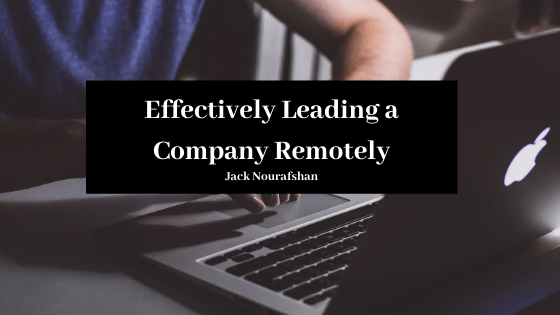 Effectively Leading a Company Remotely