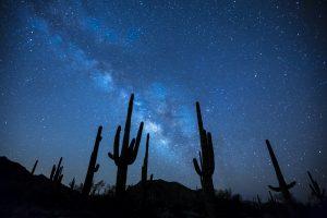Milky Way Stars Night Sky